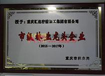 重庆市市级林业龙头企业
