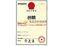 商标注册证(创想)29类