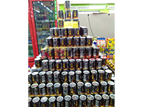 产品超市摆放