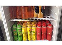 整层冰箱成列