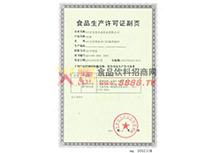 生产许可证(副页)
