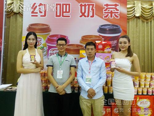 宿州刘总与小奶人乳业达成合作,现场订货35000元!