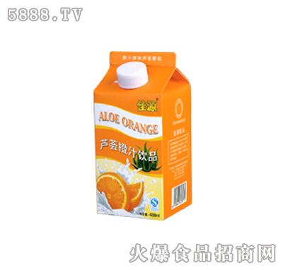 佳源芦荟橙汁(488ml)
