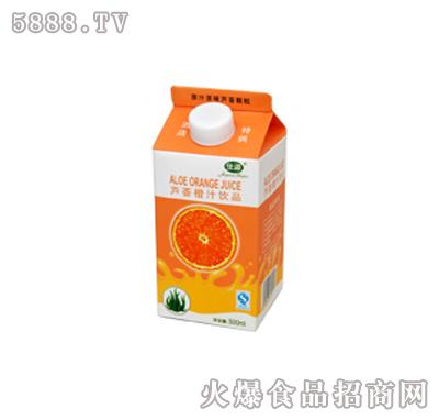 佳源芦荟橙汁(500ml)