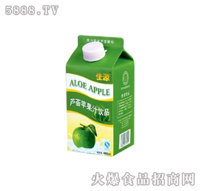 佳源芦荟苹果汁(488ml)
