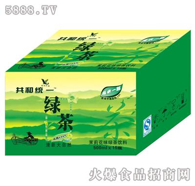 共和统一绿茶500mlx15瓶