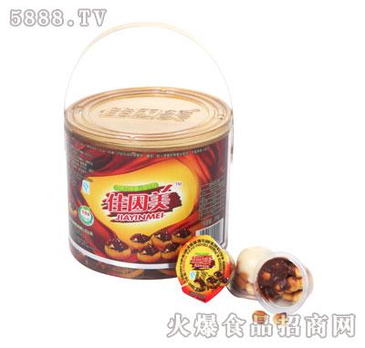 佳因美饼干巧克力390克罐装