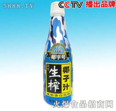 1.25L椰字号生榨椰子汁黄标