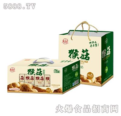 宏易堂猴菇养生奶开窗礼盒