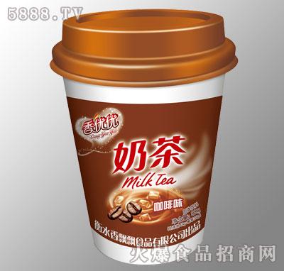 香优优奶茶咖啡味80g杯装