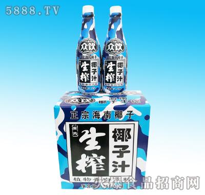 1.25Lx6瓶众饮生榨椰子汁