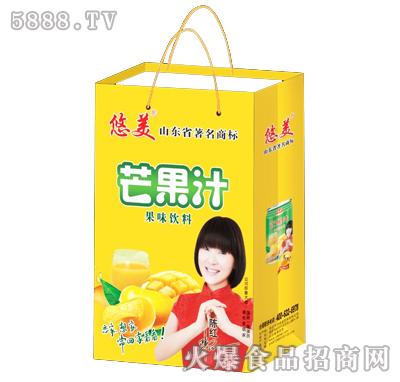 悠美芒果汁果味饮料