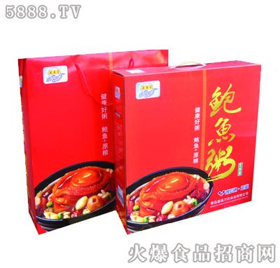 宏易堂鲍鱼粥红盒装320g6罐装八宝粥