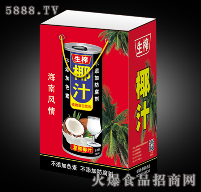 生榨椰汁植物蛋白饮料(手提袋)