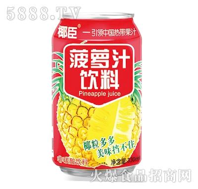 椰臣菠萝汁饮料330ml