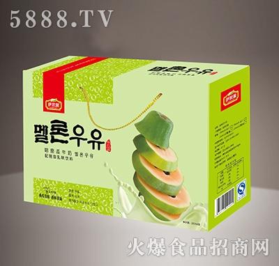 伊思源哈密瓜牛奶配制型乳味饮料箱
