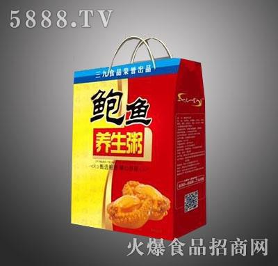 三九鲍鱼养生粥红色礼盒装