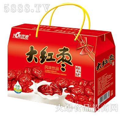 优克大红枣风味饮品礼盒装