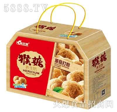 优克猴菇养生奶礼盒装