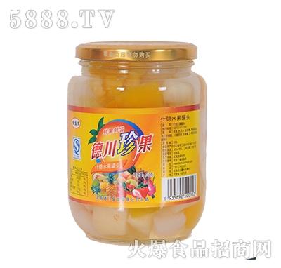 德盛恒750g什锦水果罐头