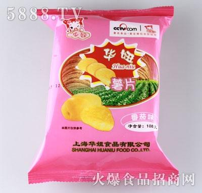 华妞薯片番茄味108g