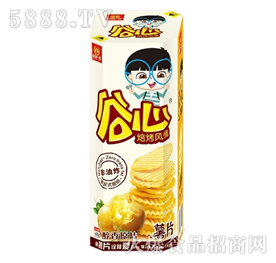 谷部一族谷心醇香原味薯片