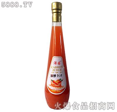 浩园胡萝卜汁828ml