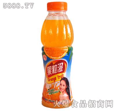 老一果粒橙瓶