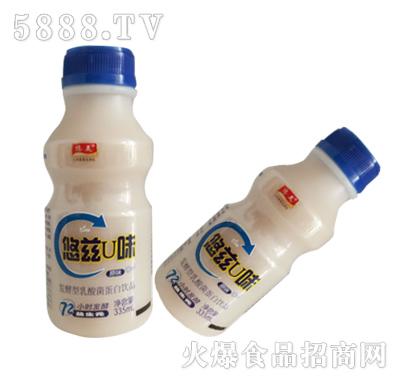 悠美悠兹U味乳酸菌蛋白饮品原味335ml