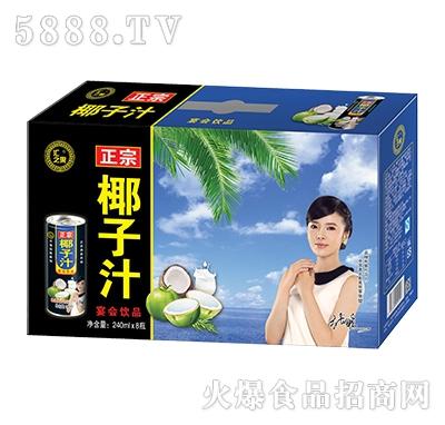 汇之果正宗椰子汁宴会饮品240mlX8瓶
