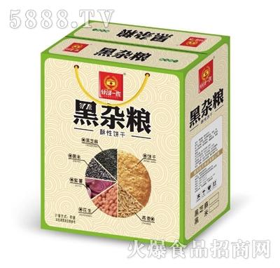 谷部一族黑杂粮酥性饼干礼盒