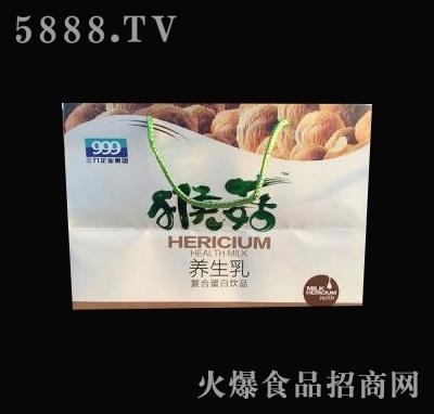 三九猴菇养生乳复合蛋白饮品礼盒装