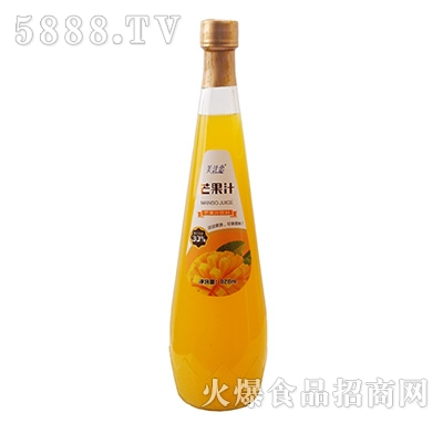 美汁恋828ml芒果汁