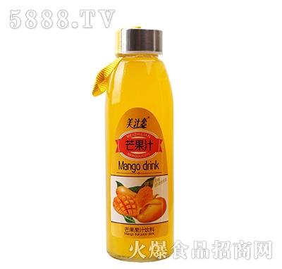 美汁恋420ml芒果汁