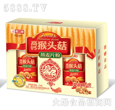 鼎立高钙猴头菇燕麦片粉518g