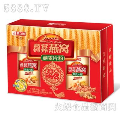 鼎立高钙营养燕窝燕麦片粉518g
