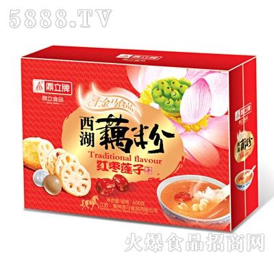 鼎立西湖藕粉红枣莲子600克