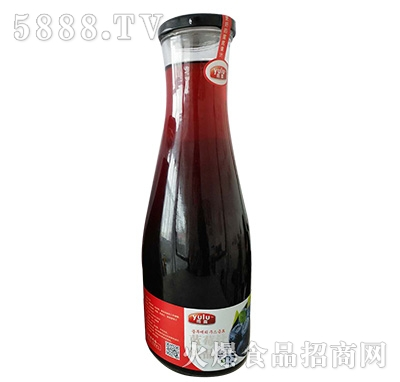 雨露蓝莓汁1.5L