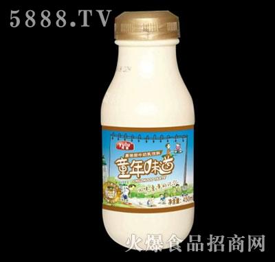 雨露原味甜牛奶乳饮料450ml