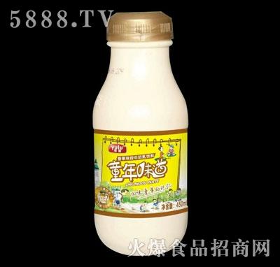 雨露香草味甜牛奶乳饮料450ml