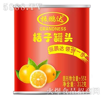312g振鹏达桔子罐头