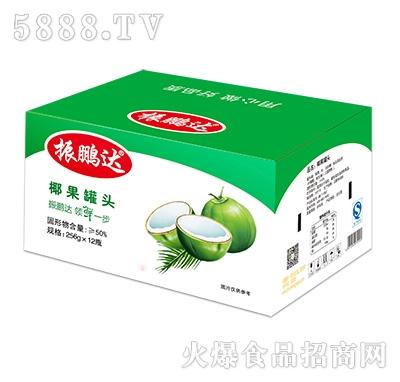 256gx12瓶椰果罐头彩箱