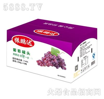 256gx12瓶葡萄罐头彩箱