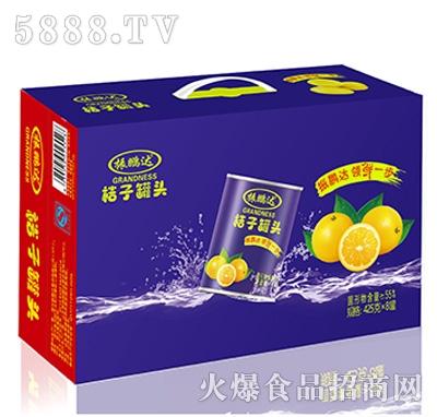 425克桔子x8罐外箱