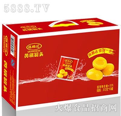 312克黄桃x10罐外箱