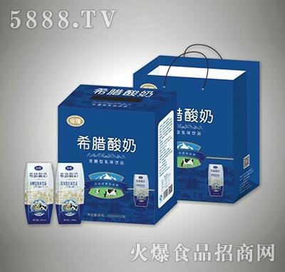 220mlx12盒希腊酸奶发酵型乳味饮品