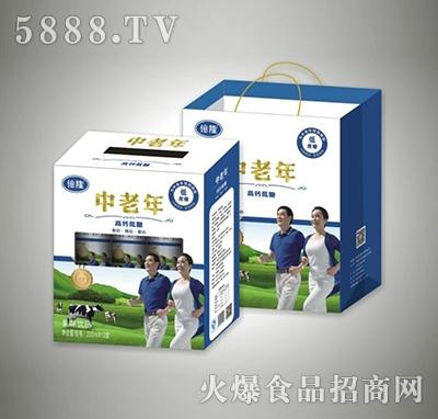 220mlx12盒中老年高钙