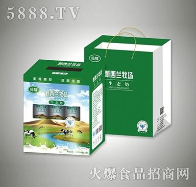 250mlx12盒新西兰牧场生态奶