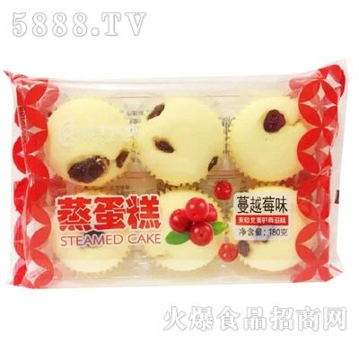 瑞丰兴业蔓越莓味蒸蛋糕180g