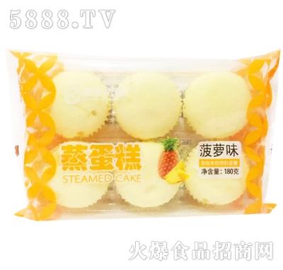 瑞丰兴业菠萝味蒸蛋糕180g